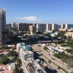 Blick auf Miami Beach