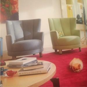 """Stuhl """"Harlem"""" entworfen von Wolfgang Joop für NWW"""