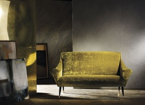 RIMONS Möbel - Liebling der Saison: Sofa Oscar, 160cm, von Zoffany. Midcentury Art all made up!
