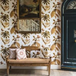 Vorzimmer für Mutige: Charakter in modernem Kolonialstil, warme farben, die Willkommen heißen. (Gastón Y Daniela)