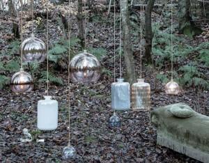 Herbstinstallation von Ebb&Flow. Die wunderbaren Lampen des dänischen Labels will ich in der Einrichtung nicht mehr missen.